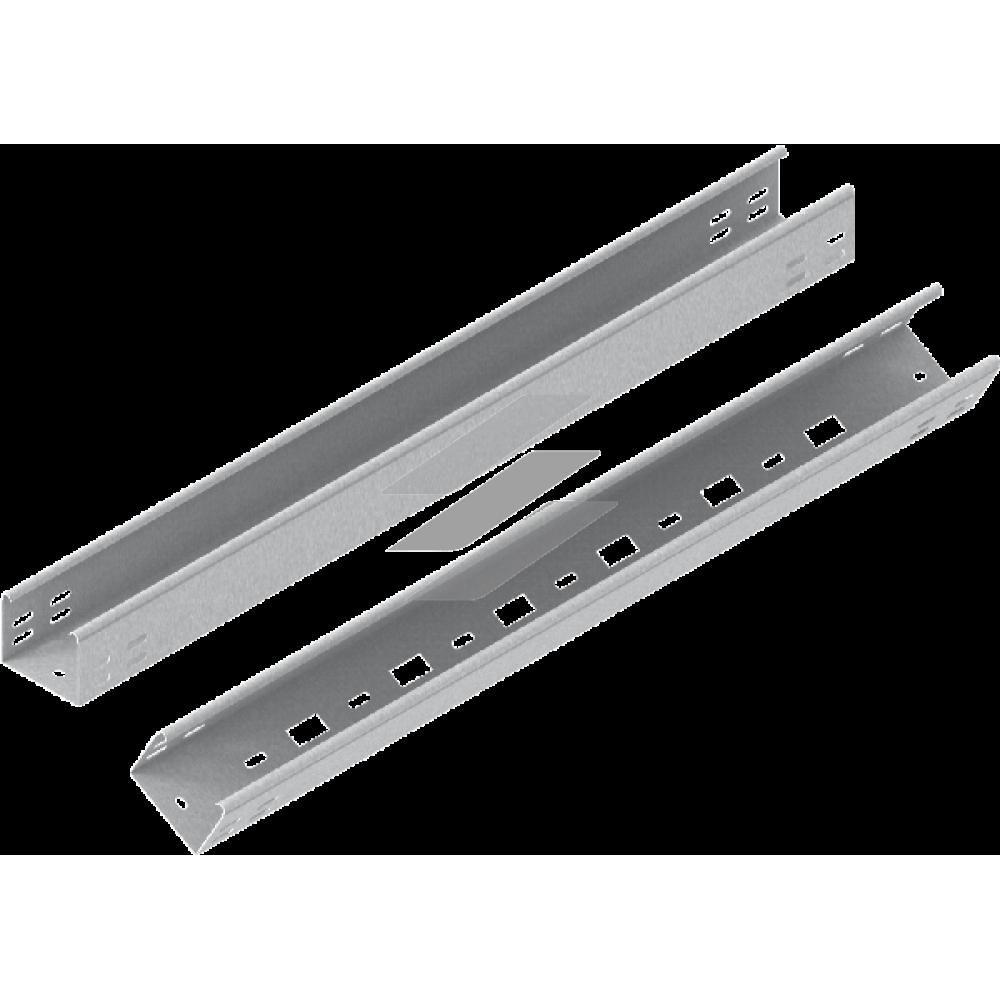Кабельний лоток KLL 75x60, товщина 0.7мм, L=6000мм, BAKS