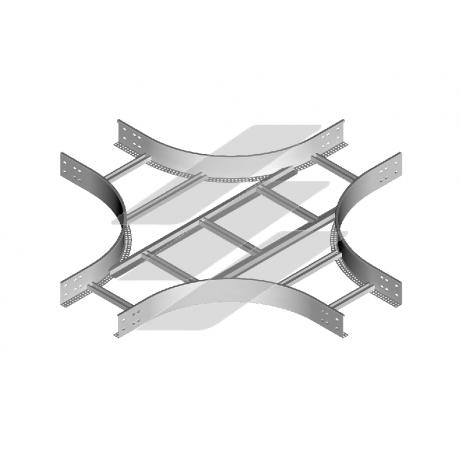 Хрестовина CZDP 100x120 (H120), товщина 1.5мм, BAKS