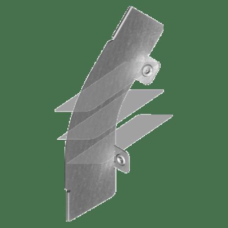 Перегородка дуги зовнішня 45° PLMZ 30мм, BAKS