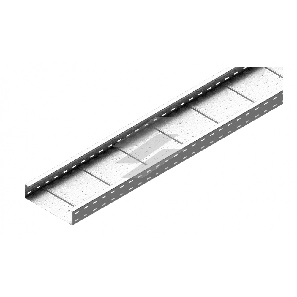 Кабельний лоток KSC 300x110, товщина 2.0мм, L=6000мм, BAKS
