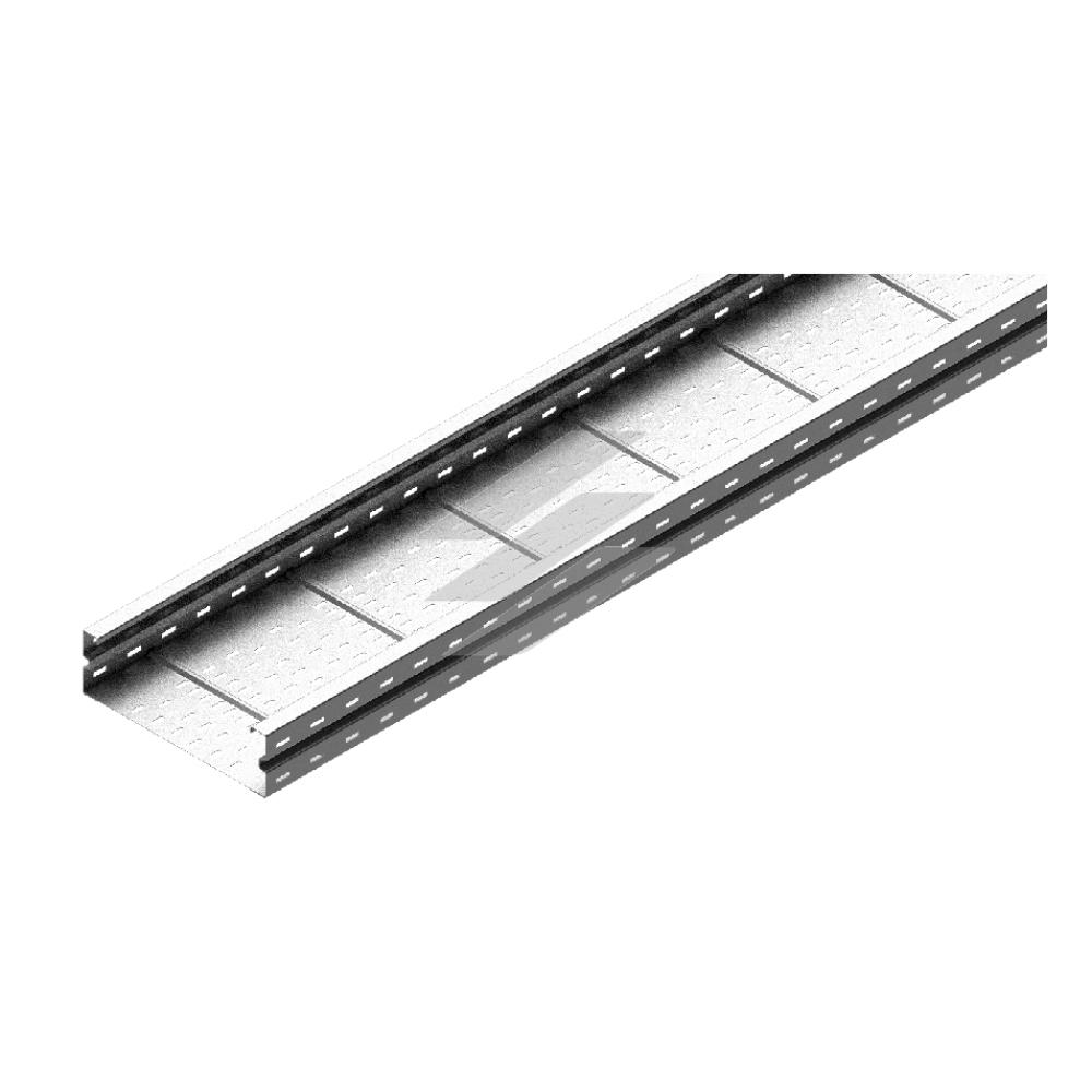 Кабельний лоток KSC 200x120, товщина 2.0мм, L=6000мм, BAKS