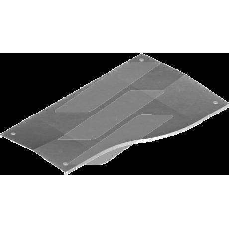 Кришка правої редукції з замком PZRPKSC 200мм/100мм, BAKS