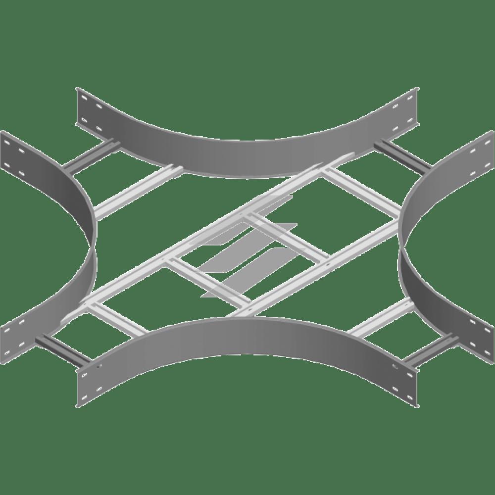 Крестовина CZDSC 600x100 (H100), толщина 2.0мм, BAKS