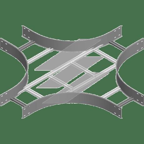 Хрестовина CZDSC 600x100 (H100), товщина 2.0мм, BAKS