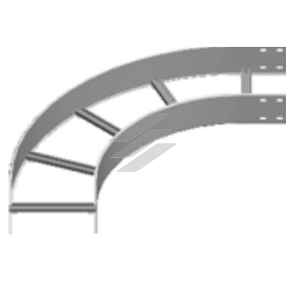 Кут 90° LDSC 300x110, товщина 2.0мм, BAKS