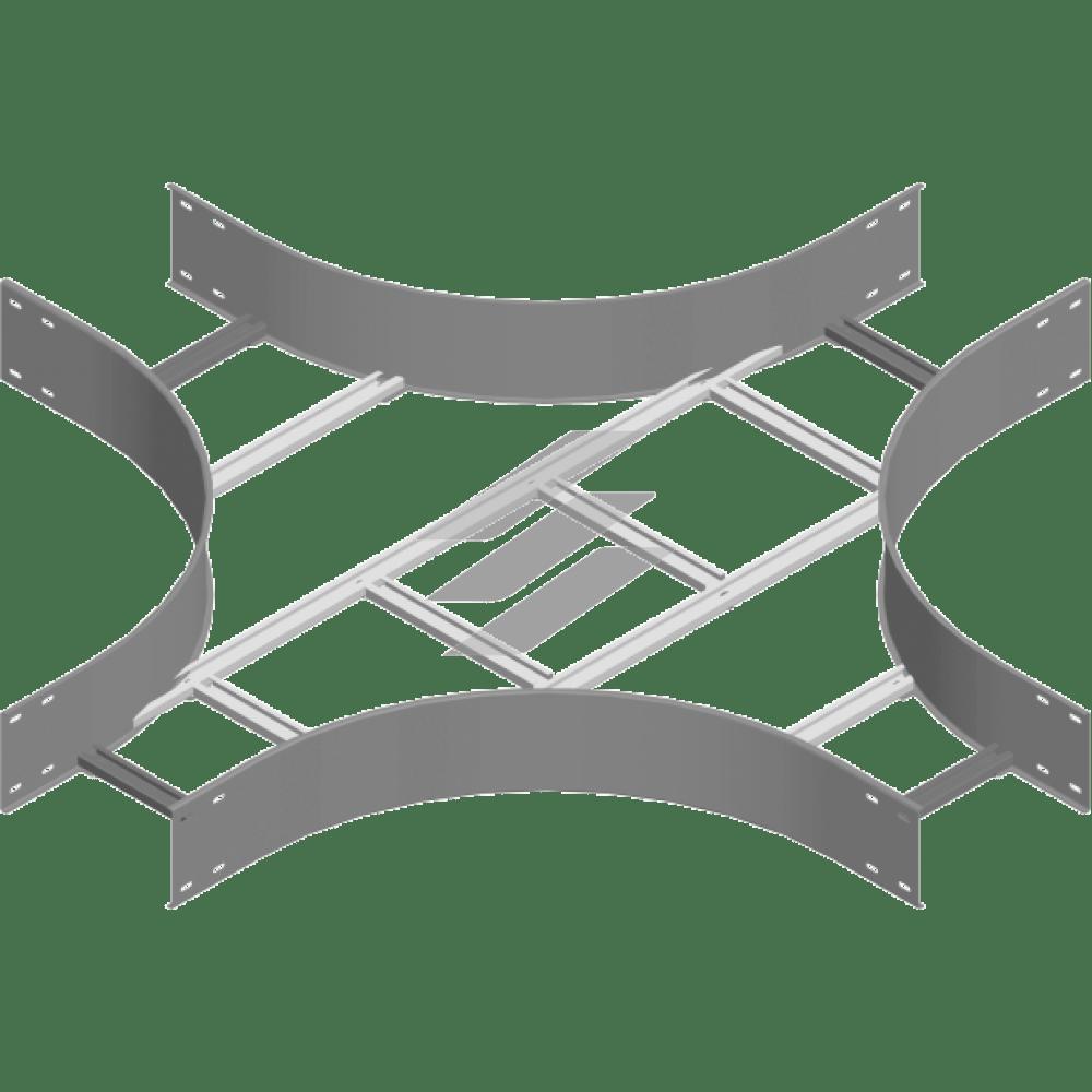 Крестовина CZDSC 400x150 (H150), толщина 2.0мм, BAKS