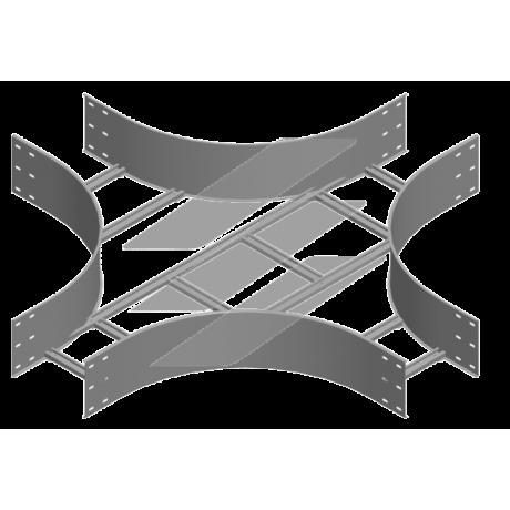 Хрестовина CZDSC 600x200 (H200), товщина 2.0мм, BAKS