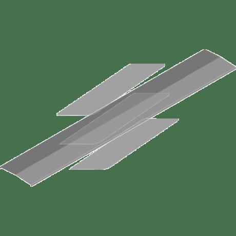 Кришка сітчастого лотку PDDP 100мм, L=2000мм, BAKS