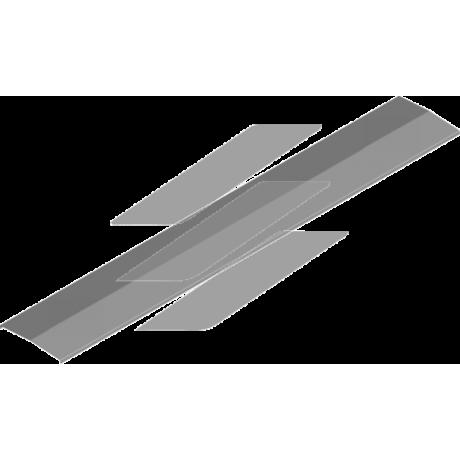Кришка сітчастого лотку PDDC 500мм, L=3000мм, BAKS
