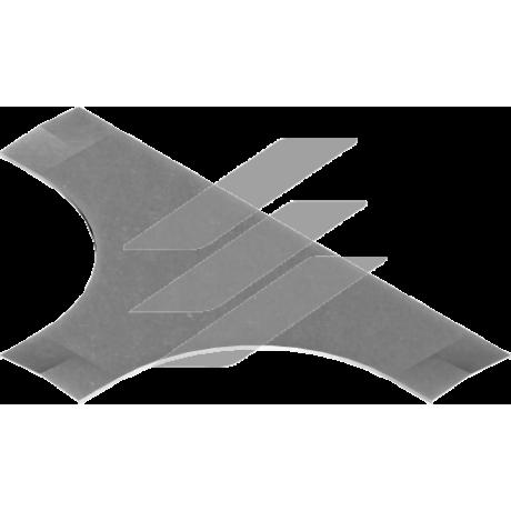 Кришка трійника PTDC 100мм, BAKS