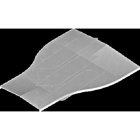 Кришка симетричною редукції PRDSP 600мм/500мм, BAKS