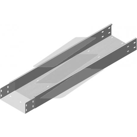 Кабельний лоток посилений з приварним з'єднувачем KZLWC 400x100, товщина 2.0мм, L=3000мм, BAKS