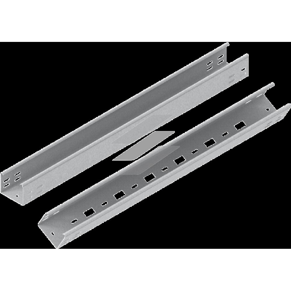 Кабельний лоток KLWL 75x60, товщина 0.7мм, L=6000мм, BAKS