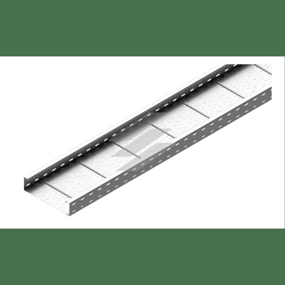 Кабельний лоток KSP 400x100, товщина 1.5мм, L=6000мм, BAKS