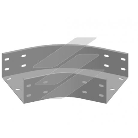 Кут 45° KKZMC 100x100, товщина 2.0мм, BAKS