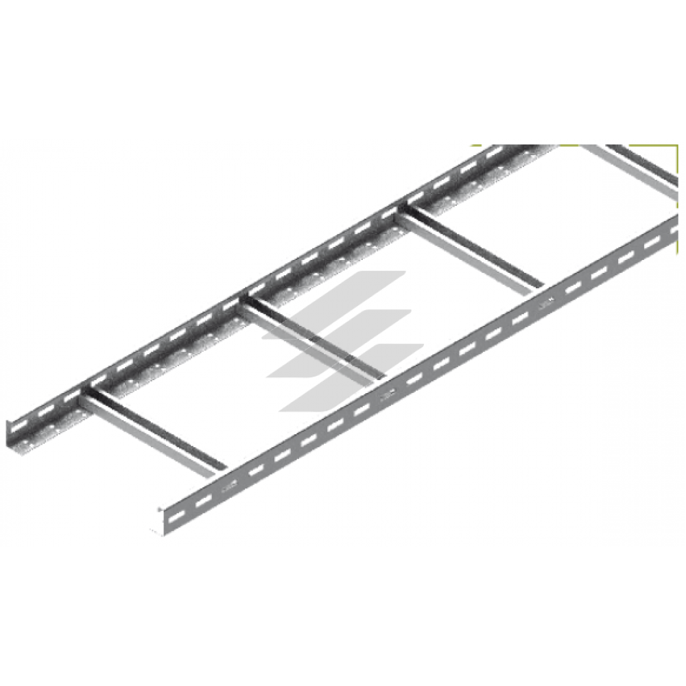 Кабельрост DUP 600x45, товщина 1.5мм, L=3000мм, BAKS