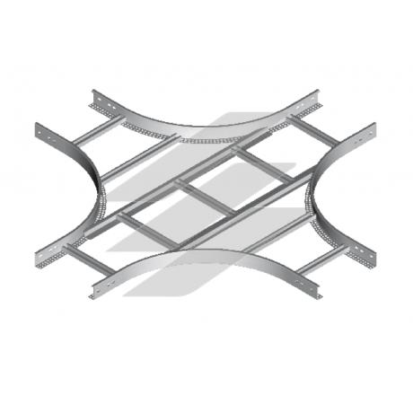 Крестовина CZDP 100x45 (H45), толщина 1.5мм, BAKS
