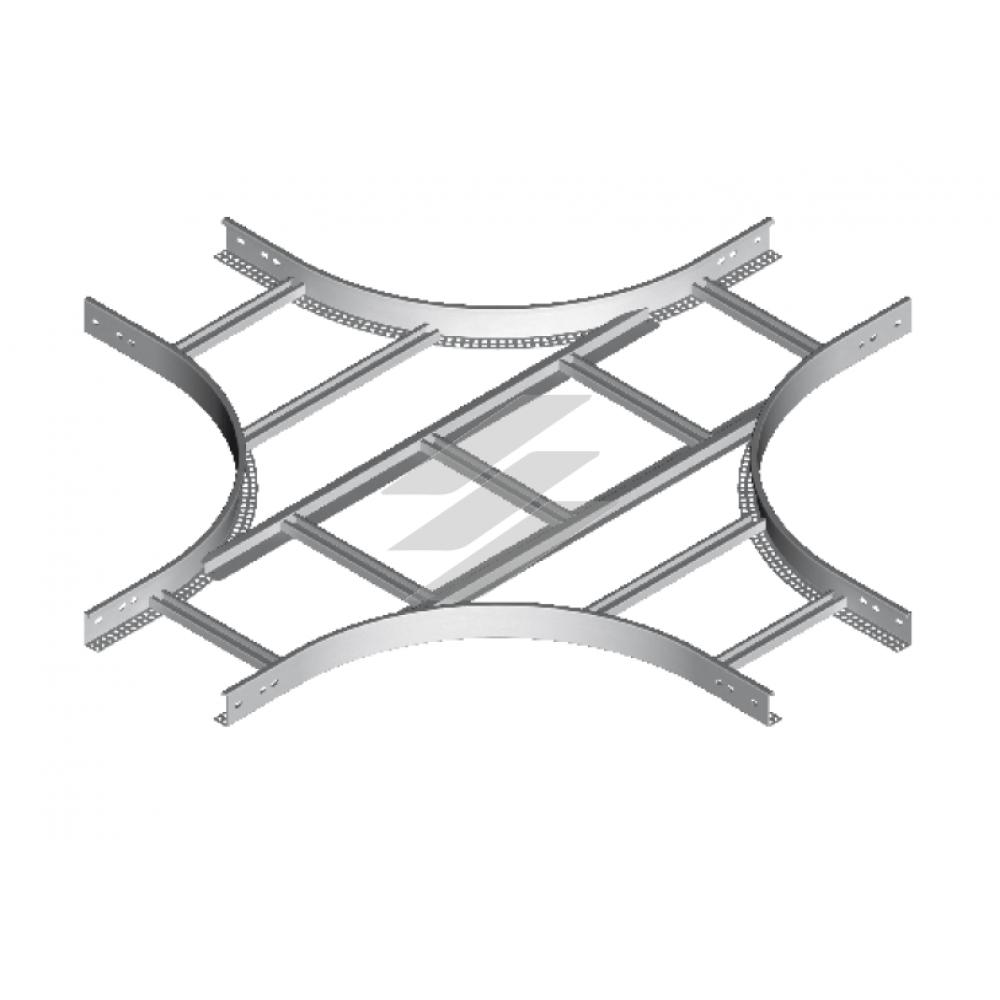 Хрестовина CZDC 600x45 (H45), товщина 2.0мм, BAKS