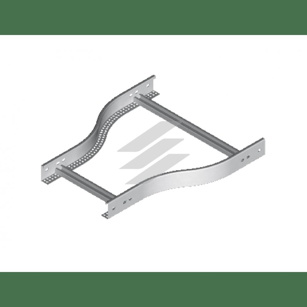 Симетрична редукція RDSP 200мм/100мм, BAKS