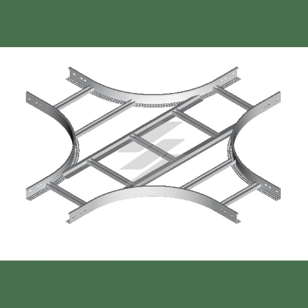 Крестовина CZDP 100x50 (H50), толщина 1.5мм, BAKS