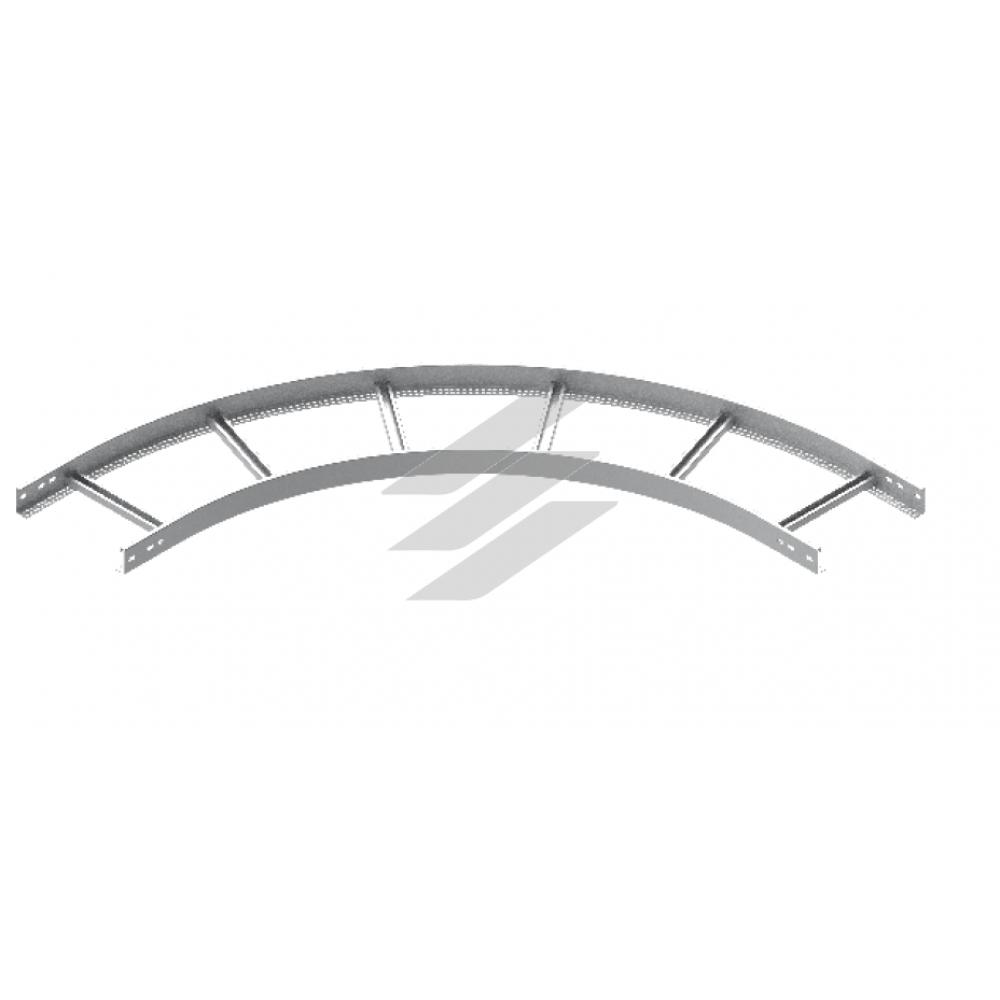 Зовнішня дуга 90° LDZP 500x60, товщина 1.5мм, BAKS