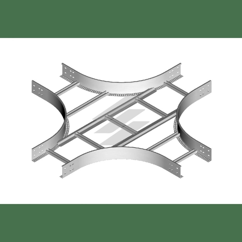 Крестовина CZDP 200x100 (H100), толщина 1.5мм, BAKS