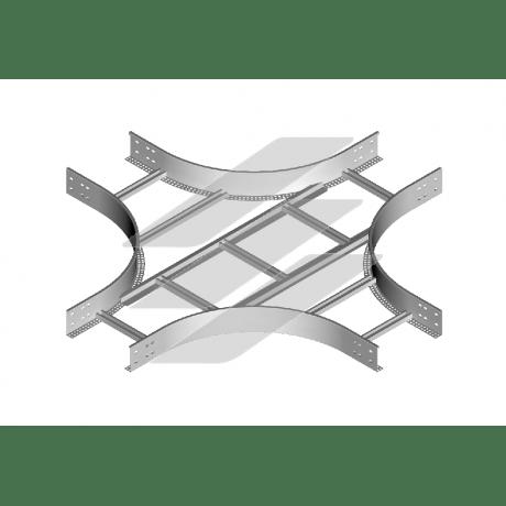 Хрестовина CZDP 100x100 (H100), товщина 1.5мм, BAKS