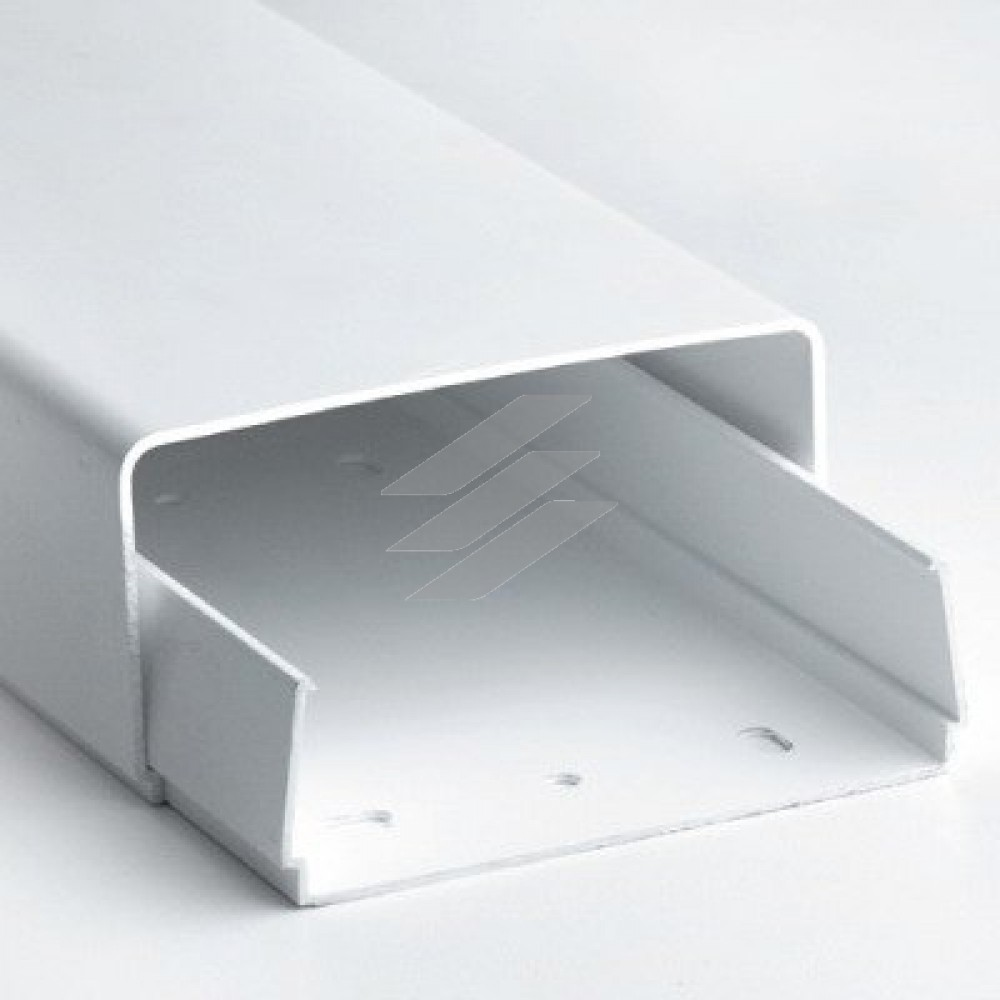 Короб для кондиціонерів (основа + кришка) 120х60мм, довжина 2м, білий, ДКС