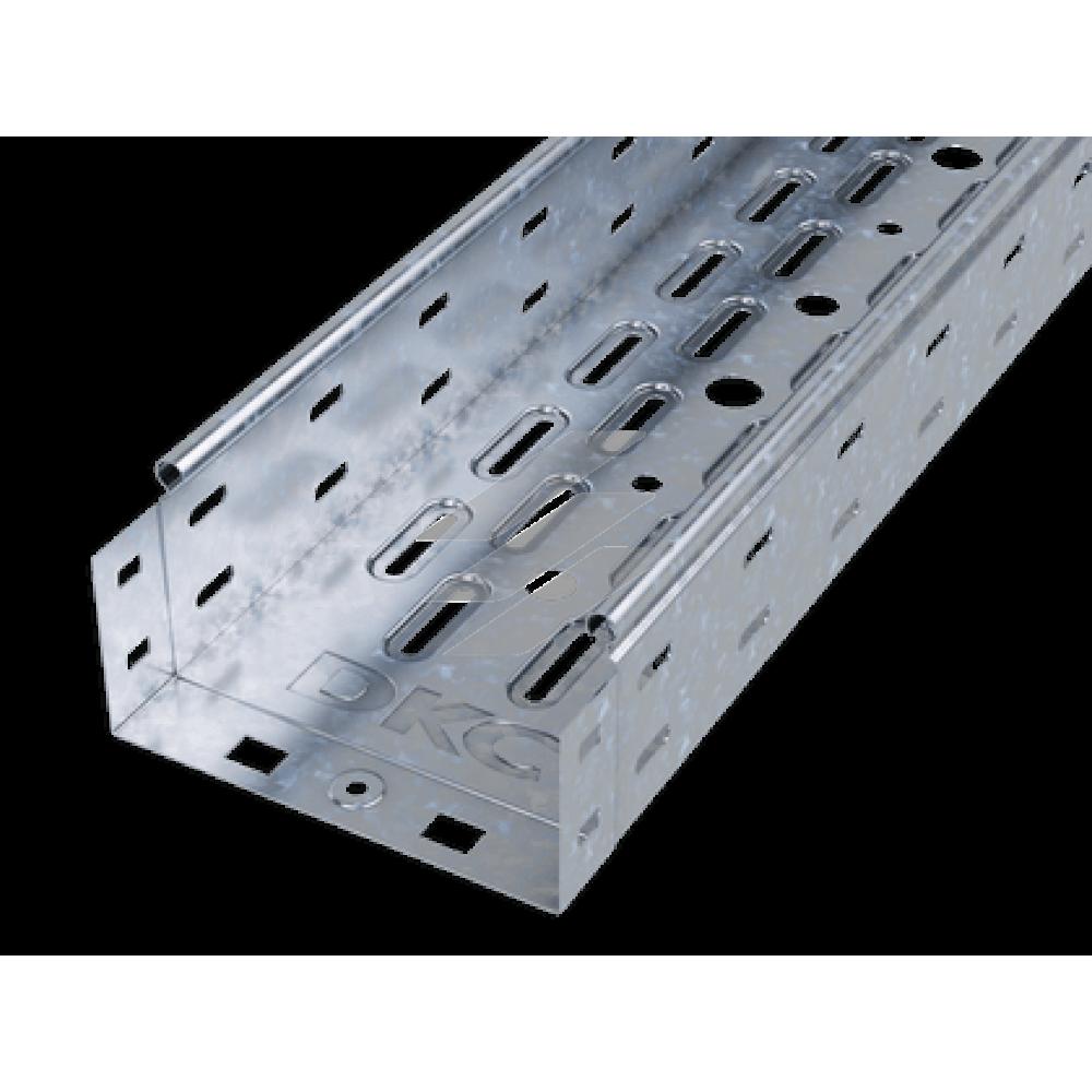 Лоток перфорований 150х80 , метод Сендзіміра, довжина 3м, ДКС
