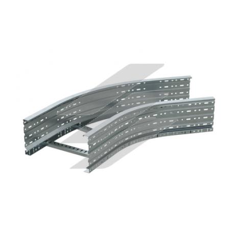Кут драбинний 45˚ 200x600, цинк-ламель, ДКС